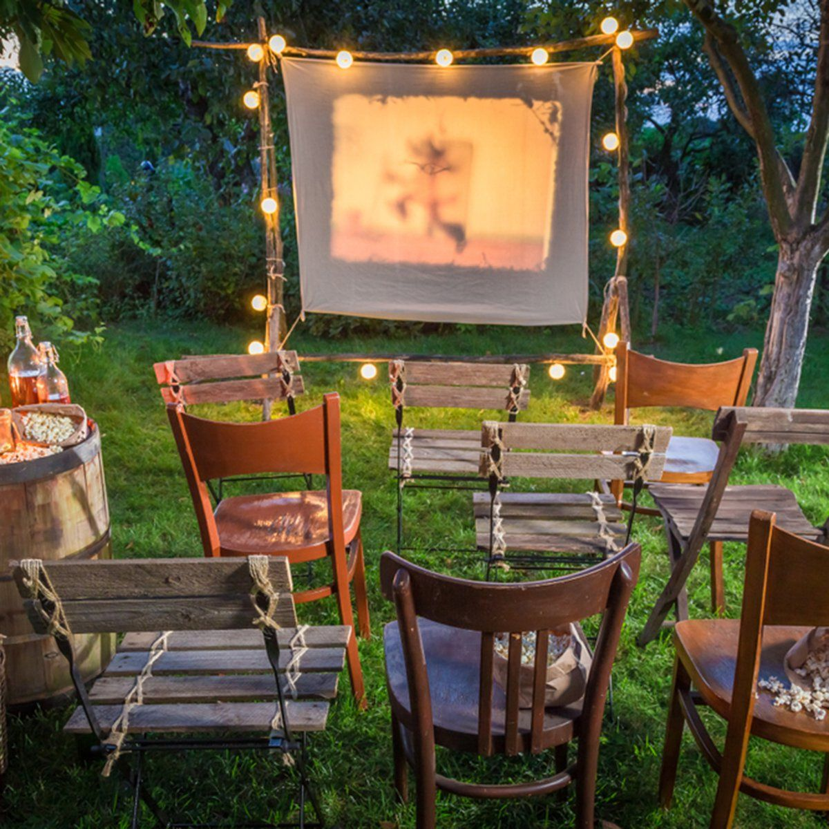 10 Fun Ideas for an Outdoor Movie Night Outdoor movie