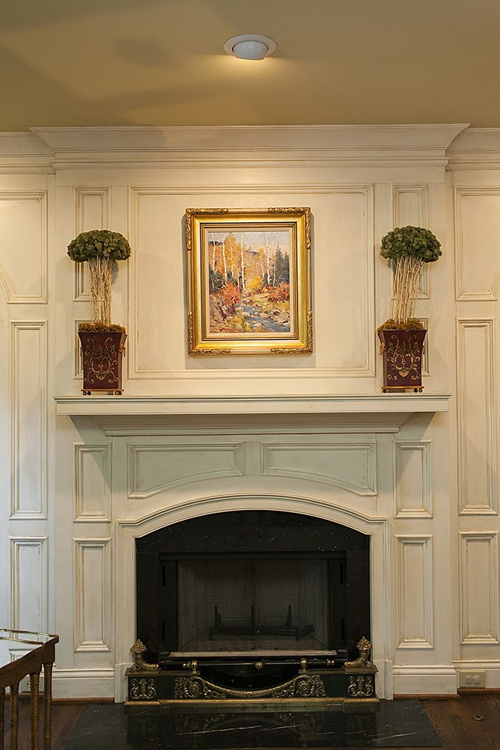 Faux Painting Revisited Styleblueprint Faux Painting Traditional Fireplace Family Room Fireplace