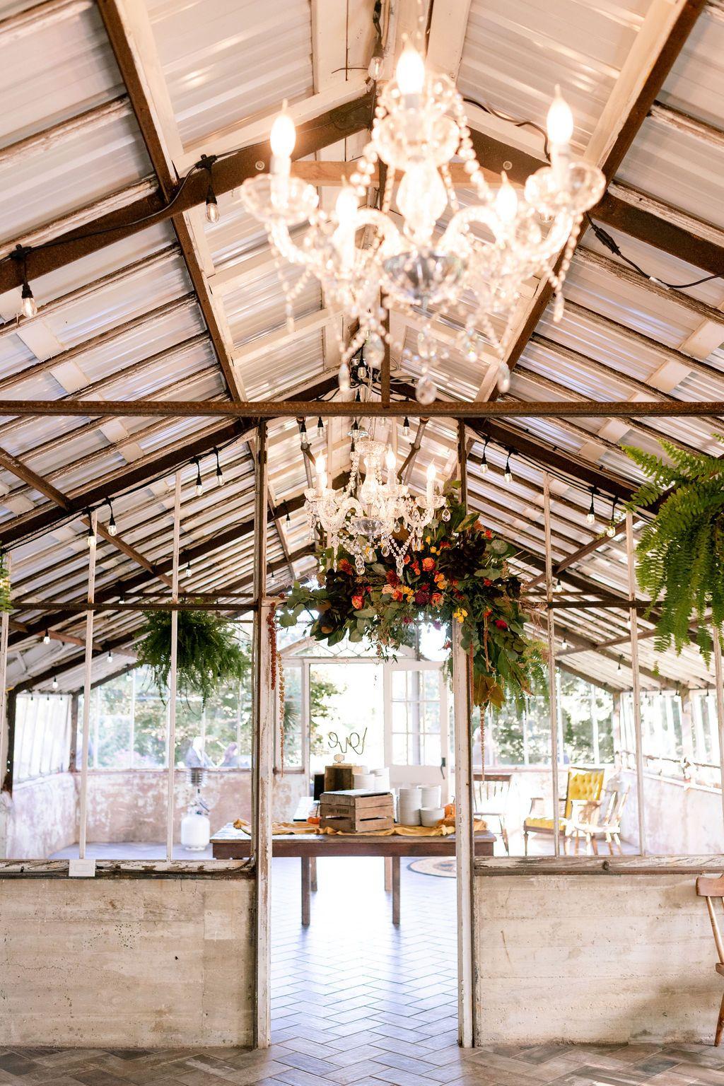 Historic Shady Lane Greenhouse Wedding Venue Hannah