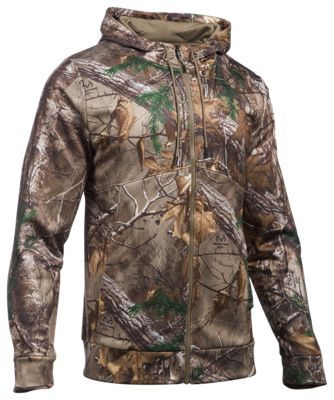 b6d8c74a9 Under Armour Storm Icon Camo Full-Zip Hoodie for Men - Realtree Xtra - M