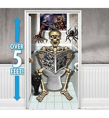 Halloween Door Decorations - Halloween Door Curtains - Party City - pinterest halloween door decor
