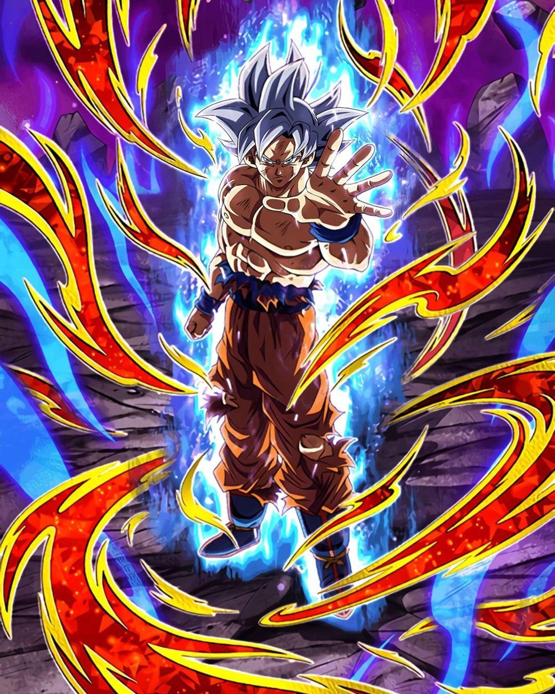Pin On Goku Kaio Ken