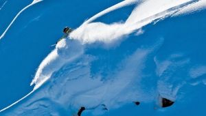 photo: BRUNO LONG  *  skier: Colston VB  *  snow: Selkirk Mts., BC http://skicanadamag.com/issues/winter-2015