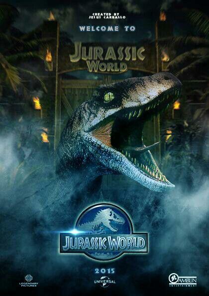 Mi Segundo Poster Parque Jurásico Jurasico Dinosaurios Jurassic World