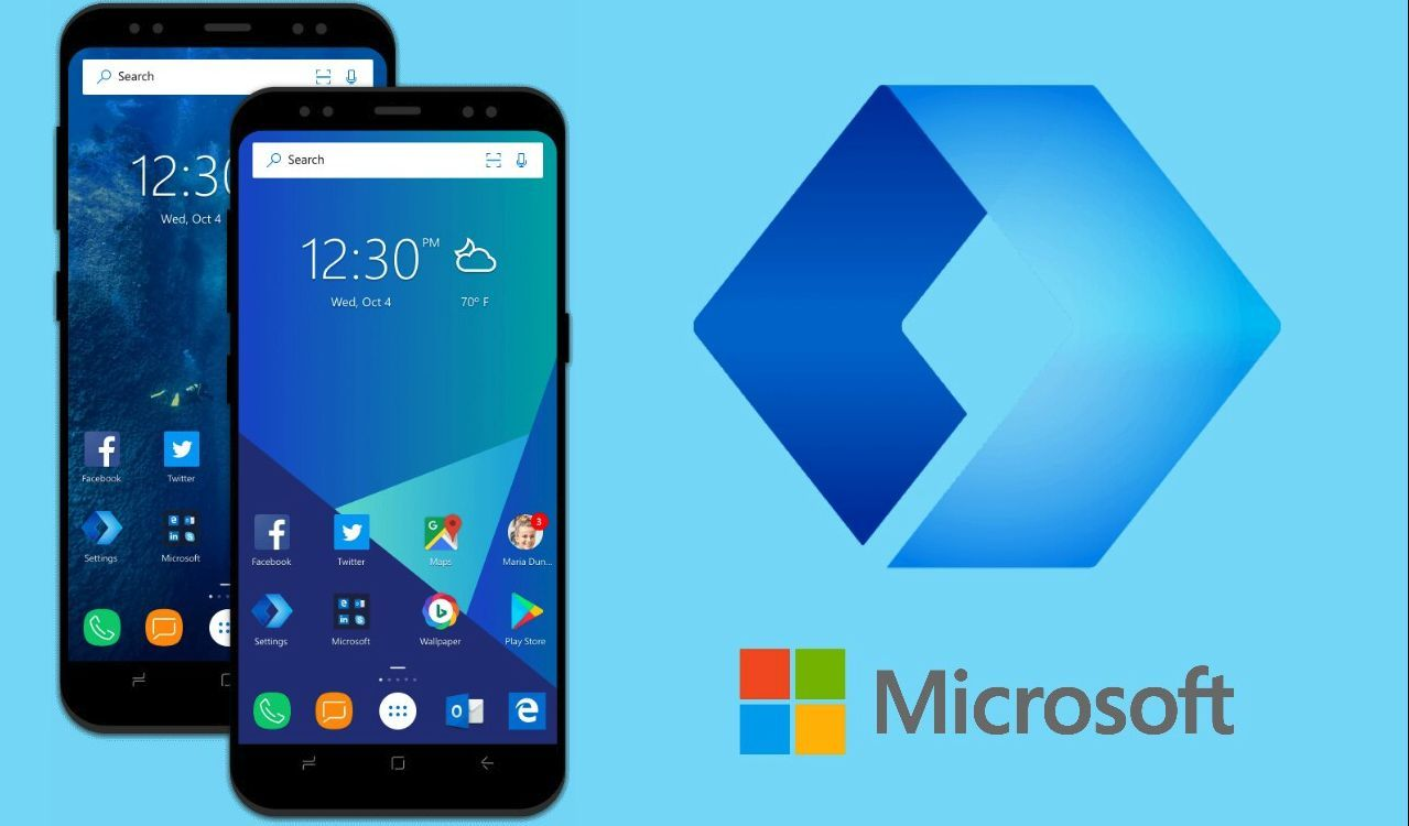 Microsoft Launcher Beta V4 7 adds support for Scrolling Wallpapers