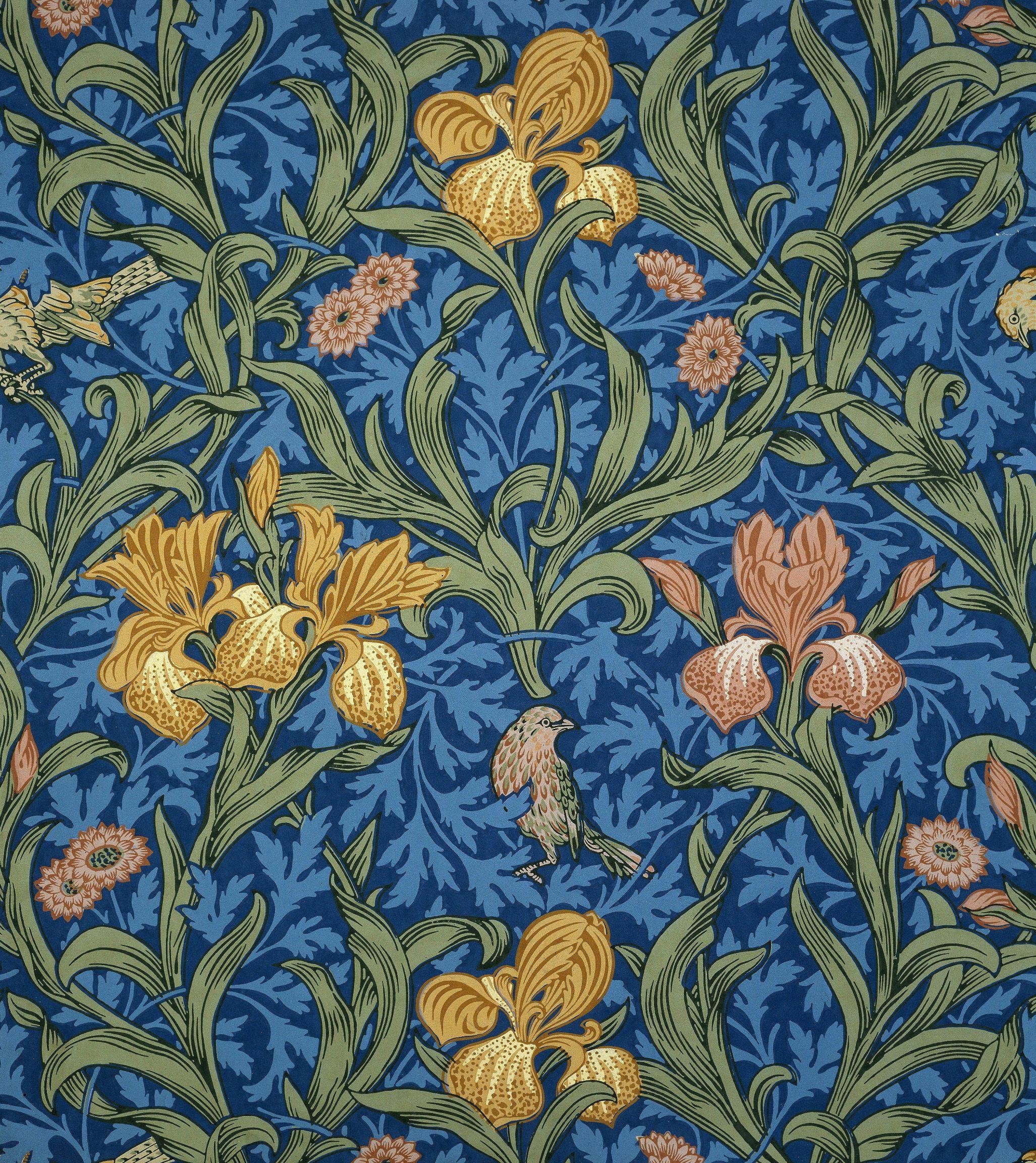 Wallpaper Design By William Morris British 1834 1896