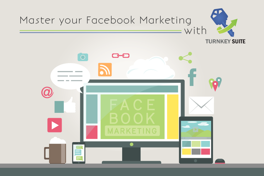 Agents, master your Facebook marketing with TurnKey Suite!   We'll provide you with expert coaching to help generate more local leads and increase your exposure, page likes, and visitor engagement. You'll also get a brand new Facebook business page or have your existing page remodeled with custom-branded graphics and lead gen apps.