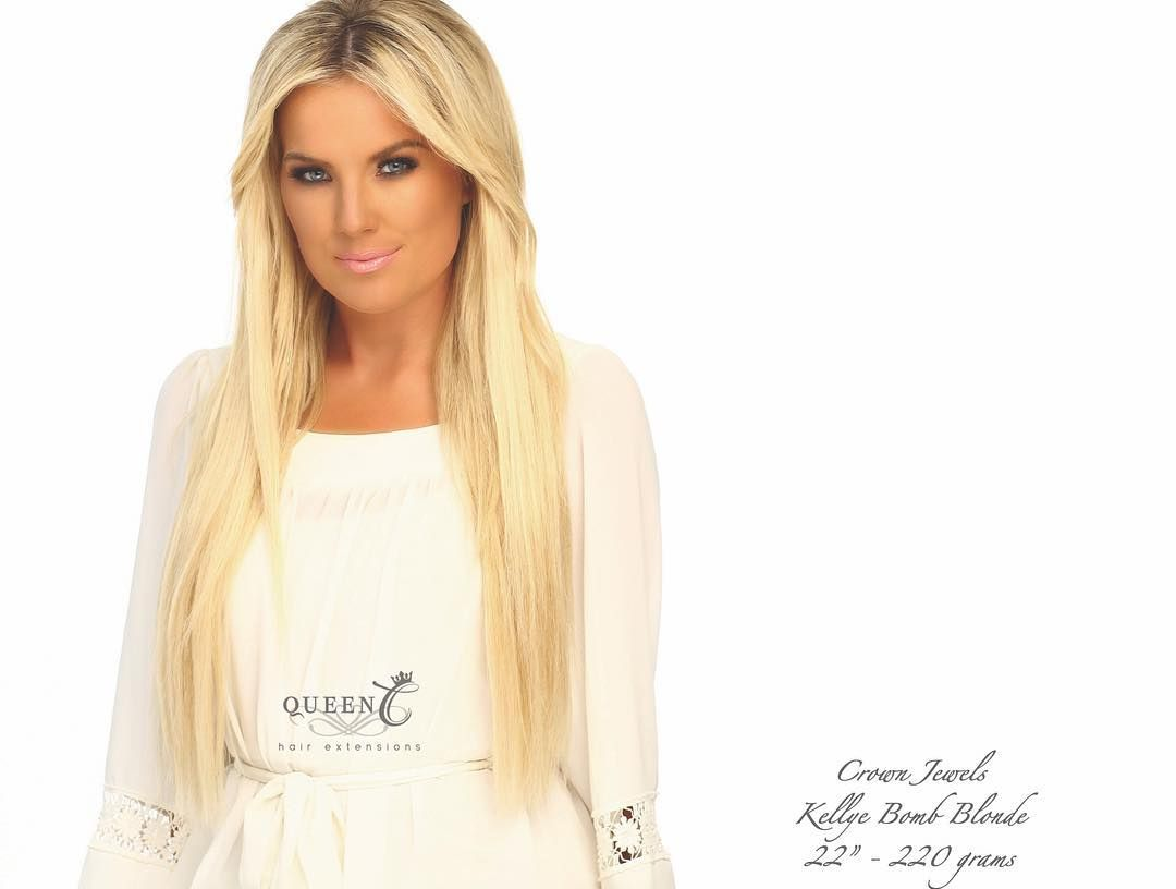 Crown Jewels Kellye Bomb Blonde Hair Extensions Extensions And