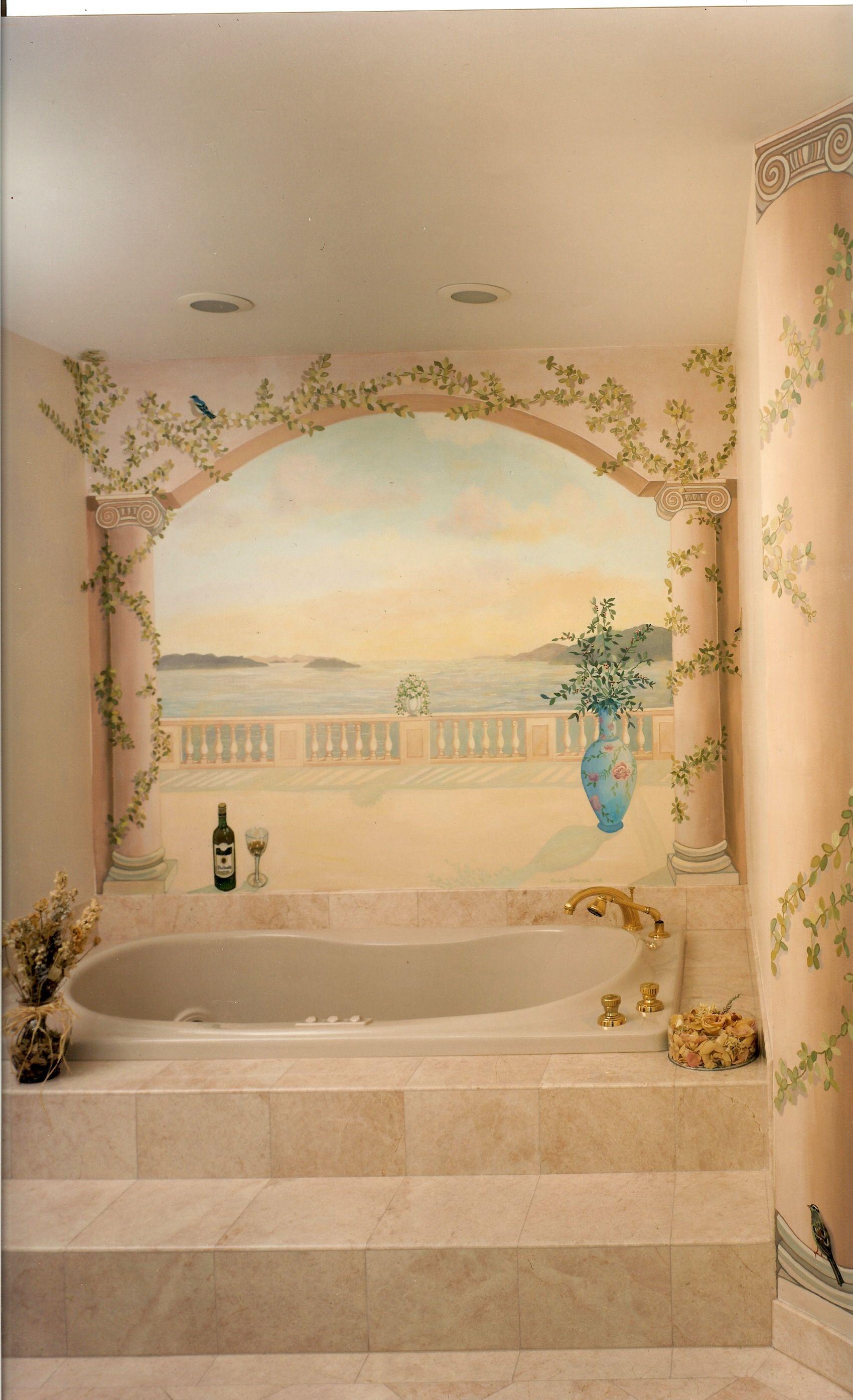 Fine Bathroom Wall Mural Ideas Ideas - The Wall Art Decorations ...