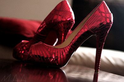 jewel red...updated ruby red slippers