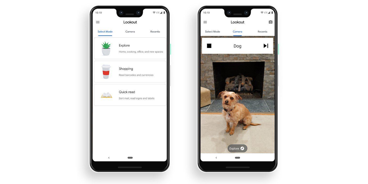 Google's Lookout for Android app describes surroundings