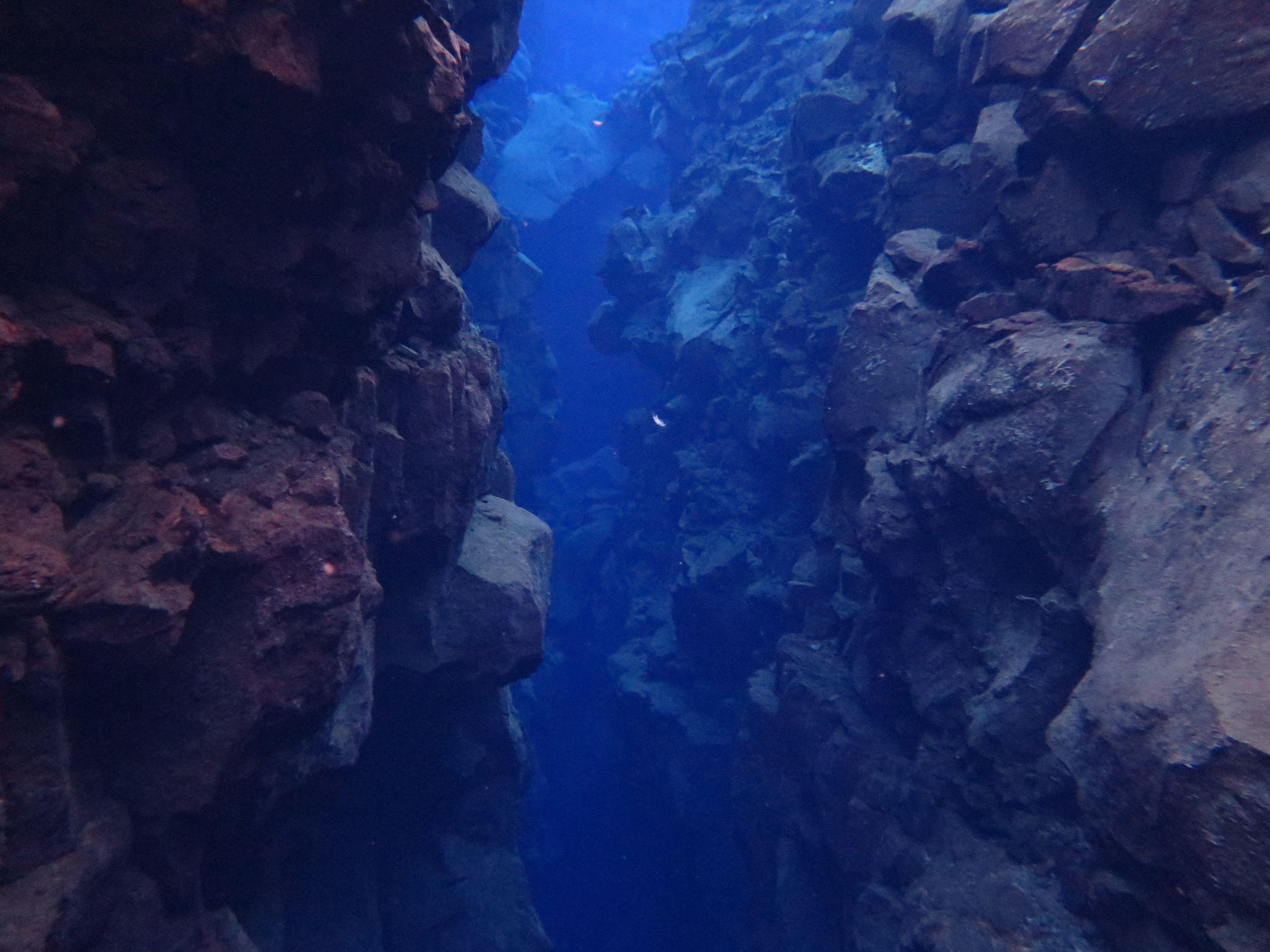 BJ Knapp author of Beside the Music scuba diving Silfra Iceland