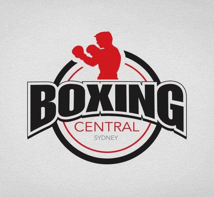 logo design branding for boxing central wallet pinterest rh pinterest com boxing logos clip art boxing logo maker