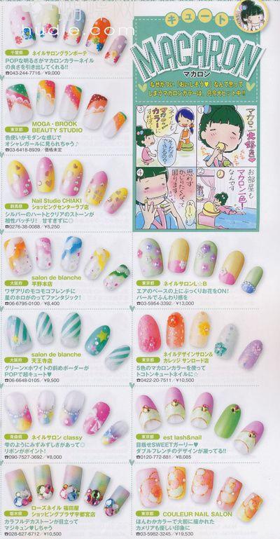 Photos of trendy Japanese manicure - part 2 | kabasia.com | Japanese ...