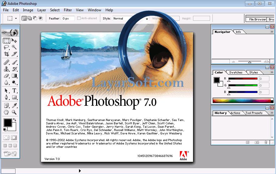 Adobe Photoshop 7 0 Portable Full V2 Updated 2020 Photoshop Adobe Photoshop Pengeditan Foto