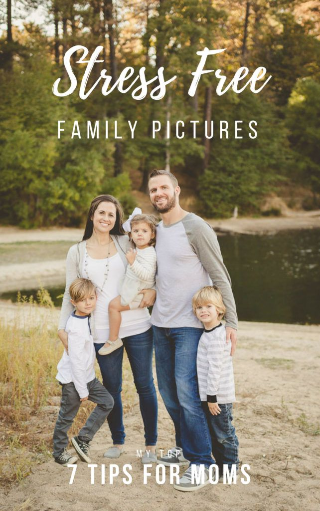 7 Tips to Take the Stress Out of Family Pictures - Heidi Grace Photography #familyphotooutfits