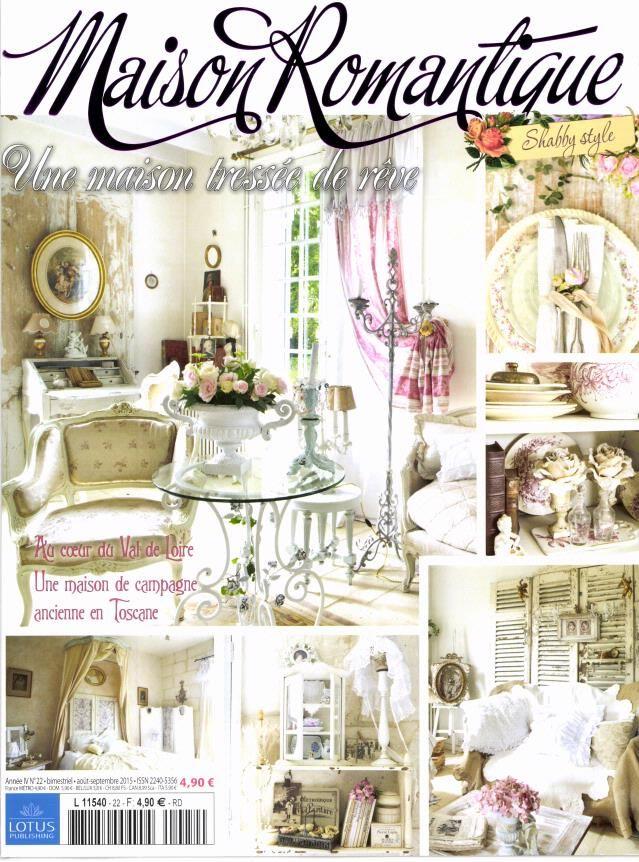 maison romantique magazine my favorite decorating books i 39 ve bought pinterest shabby. Black Bedroom Furniture Sets. Home Design Ideas
