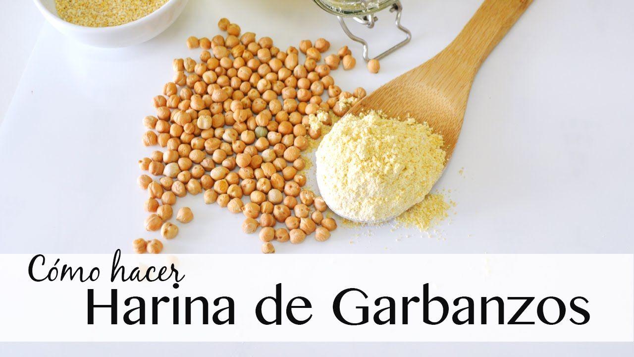 Básicos | Cómo hacer harina de GARBANZOS | Fácil y rápido
