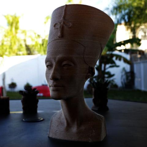 3D printing Nefertiti Bust [Hollow], Adafruit