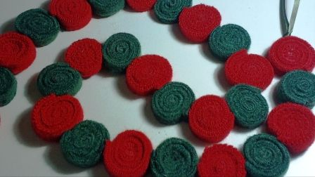 Upcycled Felted Wool Sweater Garland! - OCCASIONS AND HOLIDAYS