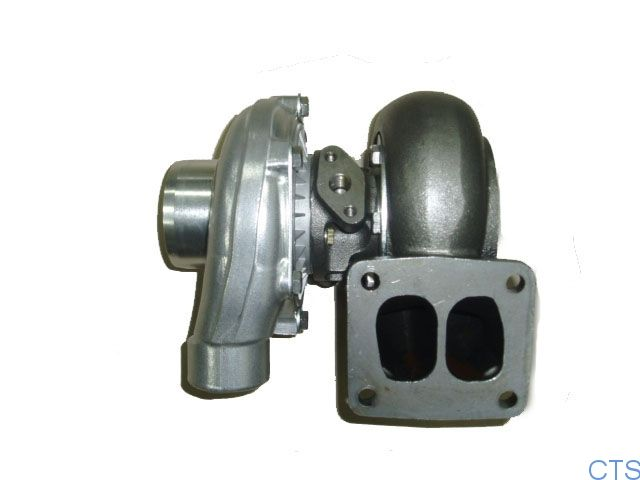 Garrett T series Turbocharger: T4(T04B)  1) Compressor casing: A/R.60 2) Turbine casing: A/R 1.15 Max Speed( r/min): 130,000 Max Durative Working Temperature(℃): 800℃ Max Temperature of inlet gas in one hour(℃):850℃ Max Rate of Compressed Air(πc): 3.0 Range of Fulx(kg/s): 0.115-0.396 Suited Power Range(hp): 218-460 hp