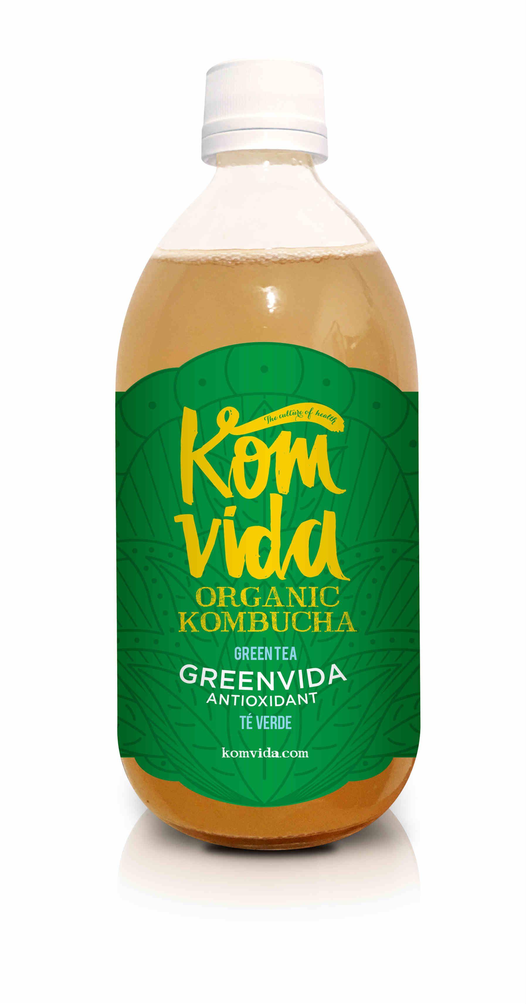 Konvida, la kombucha sana y con vida