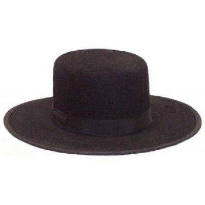 2c8c3c7a3d8 Amish Dress Hat - Flat Top