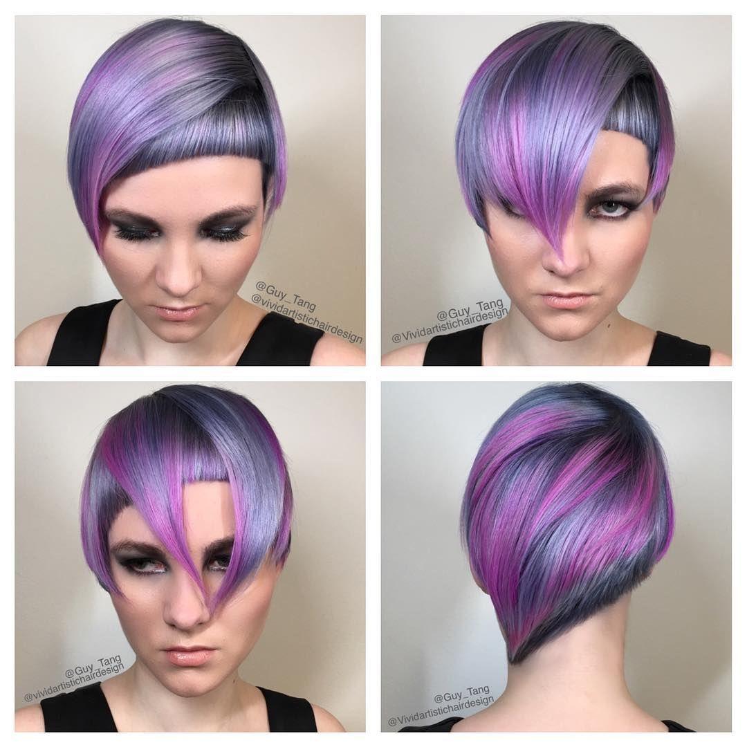 Short Hair Dont Care By Guy Tang Fashion Hair Colors Hair Cuts