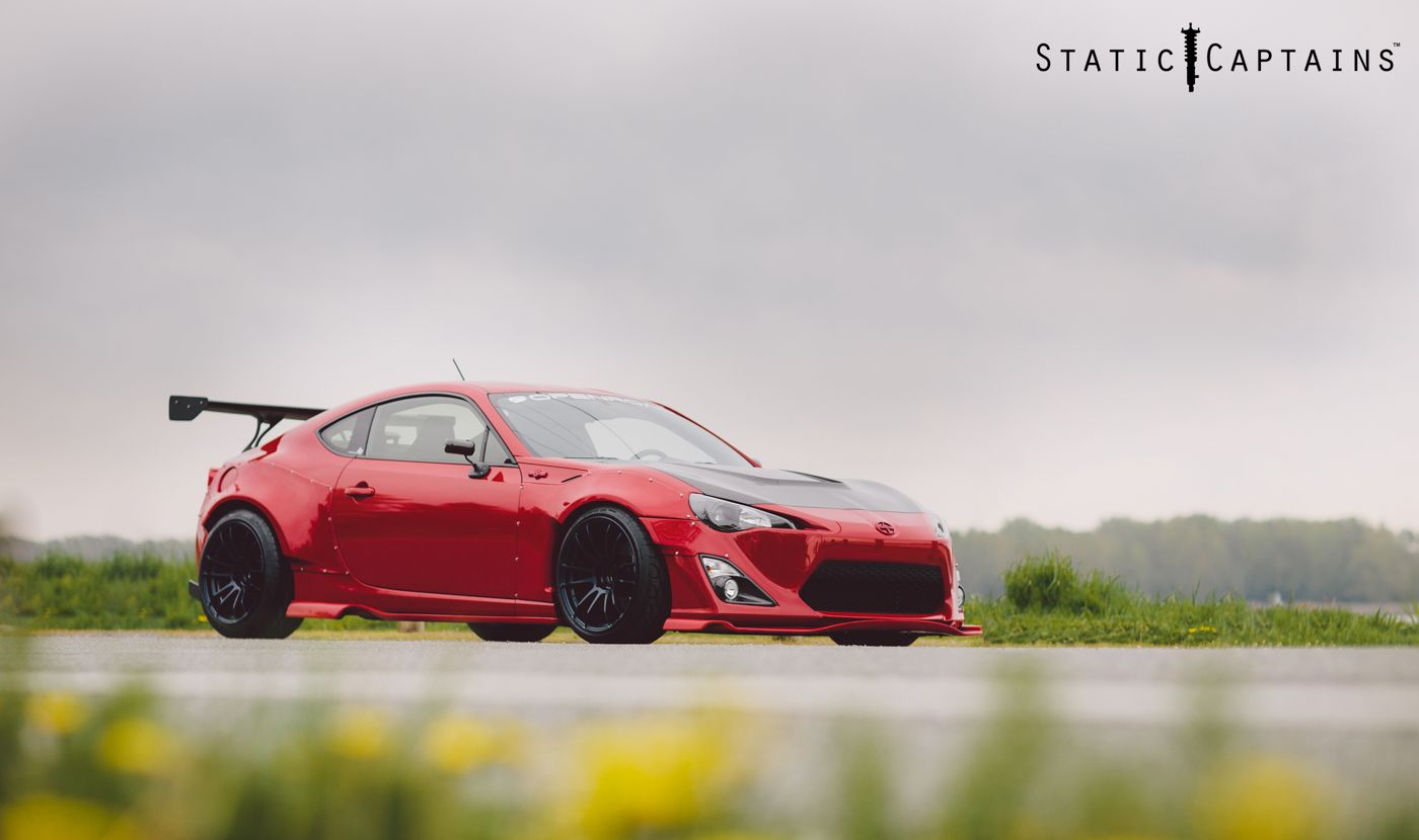 Lovely Static Captains Exclusive: The First Canadian Scion FR S Rocket Bunny