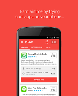 How To Earn Free Recharge For Airtel,Vodafone,Docomo