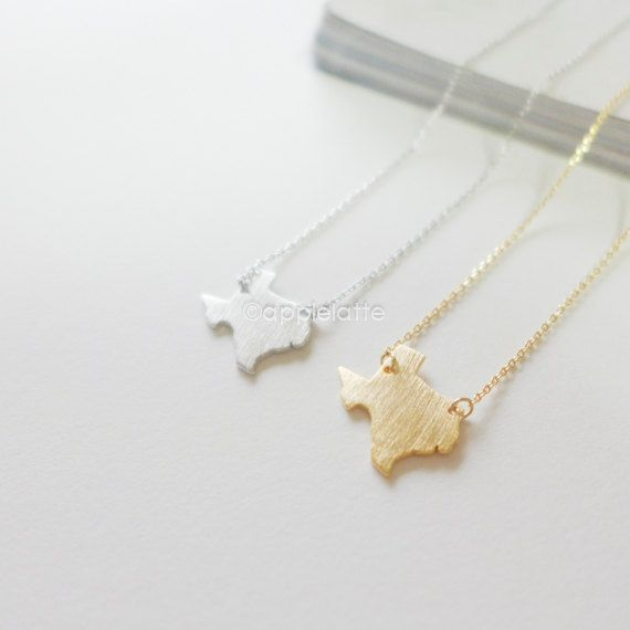 Texas You are my HOME...Texas State Charm Necklace...State Pride Sterling Silver