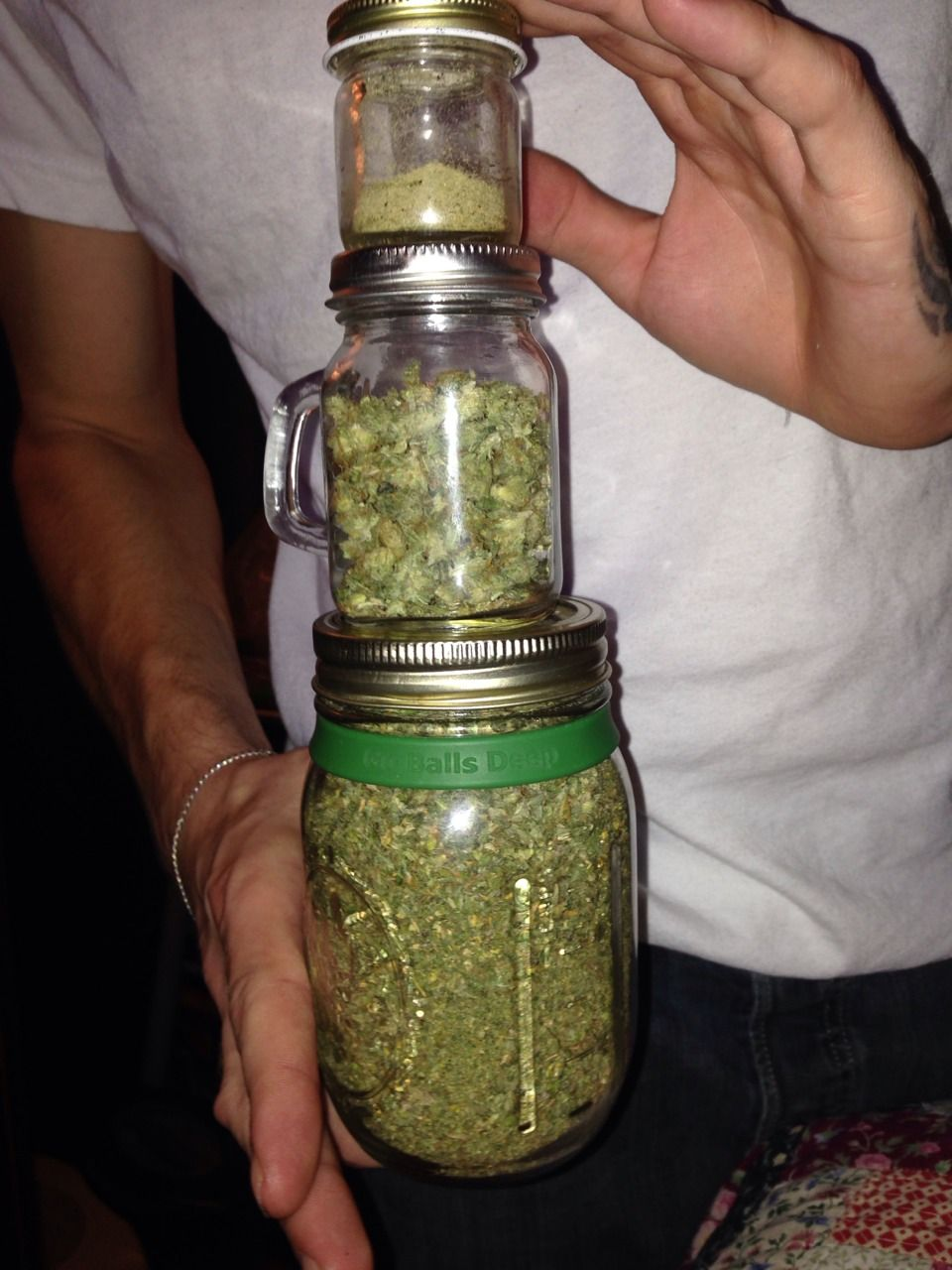 kief bud trim jars stash box pinterest
