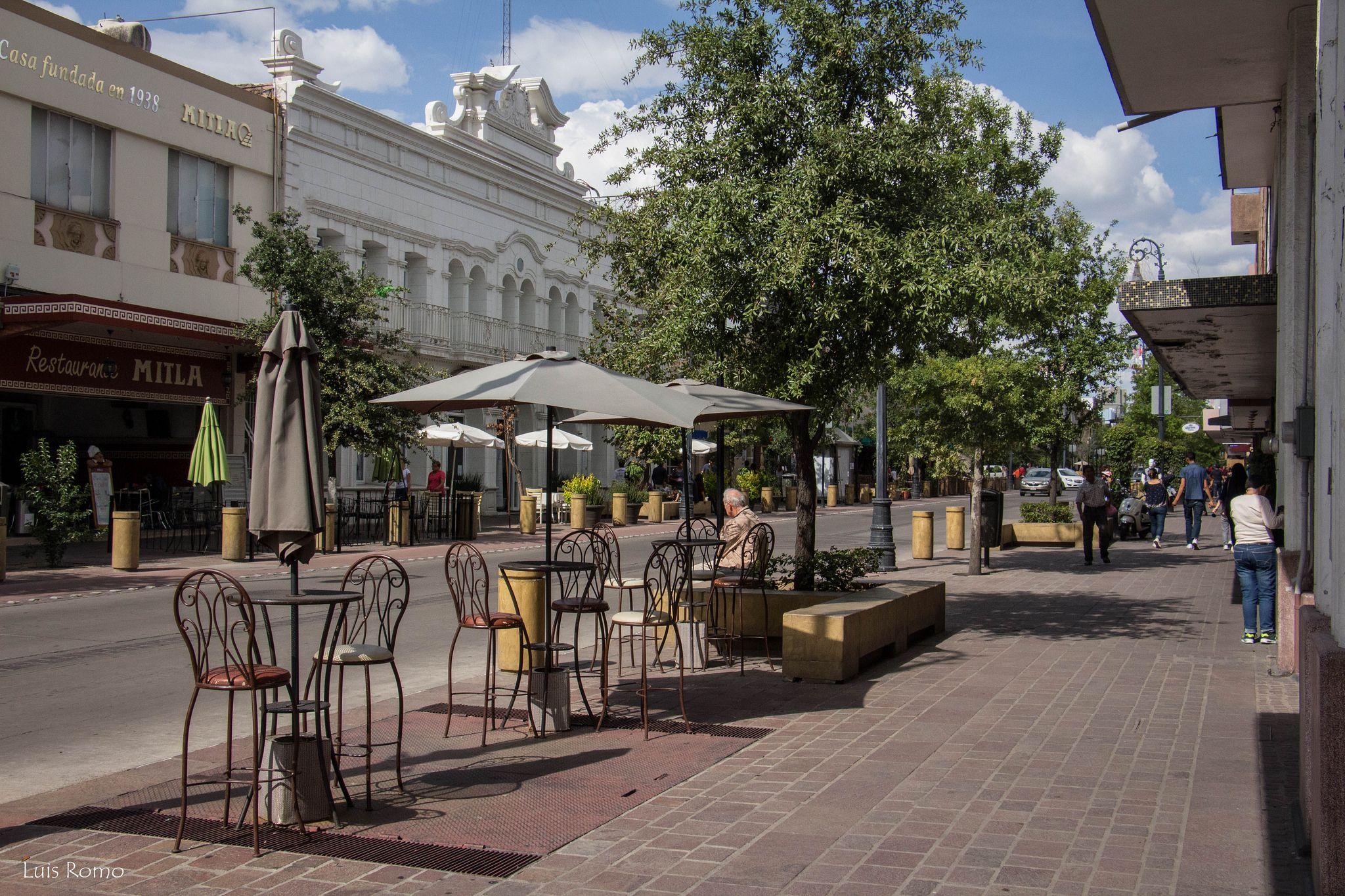 Calle Madero en Aguascalientes.