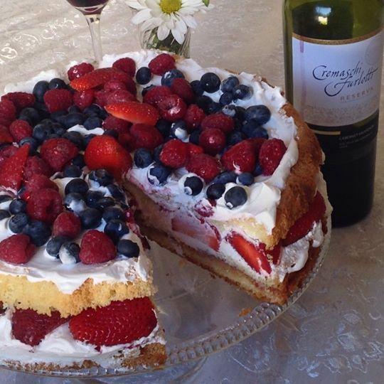 Torta frutas de la estación- KO-cina