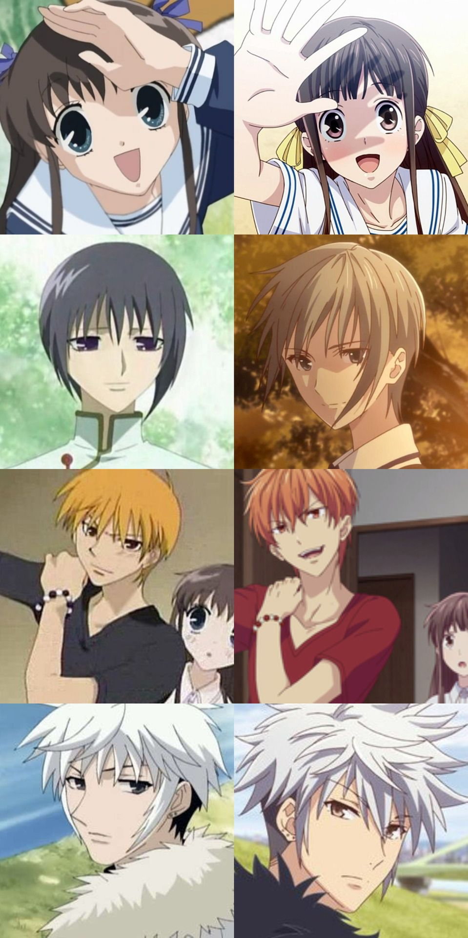 Fruits Basket (2001) // Fruits Basket (2019) Tohru Honda