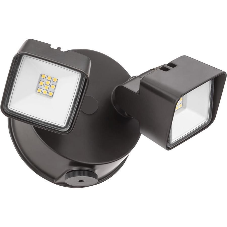 Lithonia Lighting 100 Watt Eq Bronze Integrated Led Dusk To Dawn Floodlight In 2020 With Images Lithonia Lighting Lithonia Flood Lights
