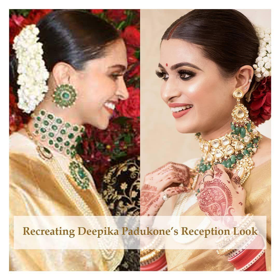 Recreation Of Deepika Padukone S Reception Look Deepika Padukone Reception Ear Cuff