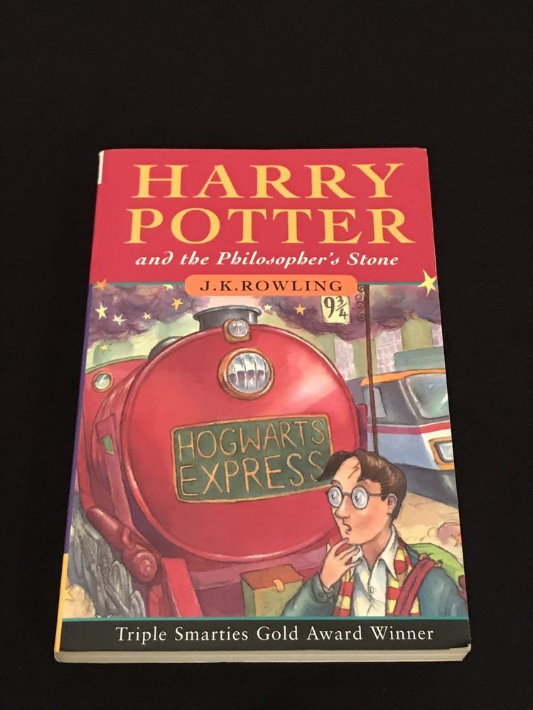 1st Edition 45th Print U K Softcover Harry Potter And The