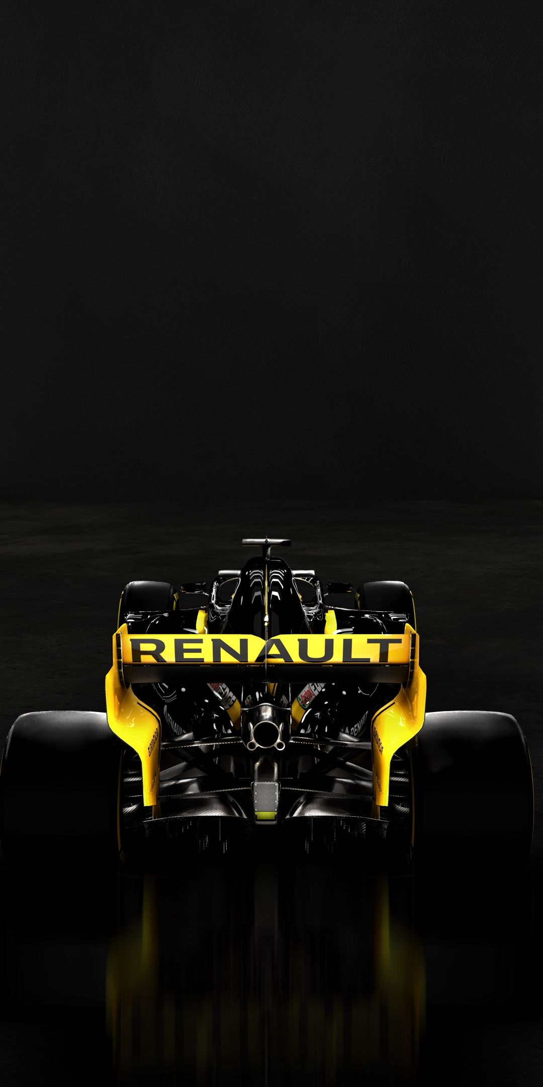 Rear View Renault R S 19 Formula One 2019 1080x2160 Wallpaper