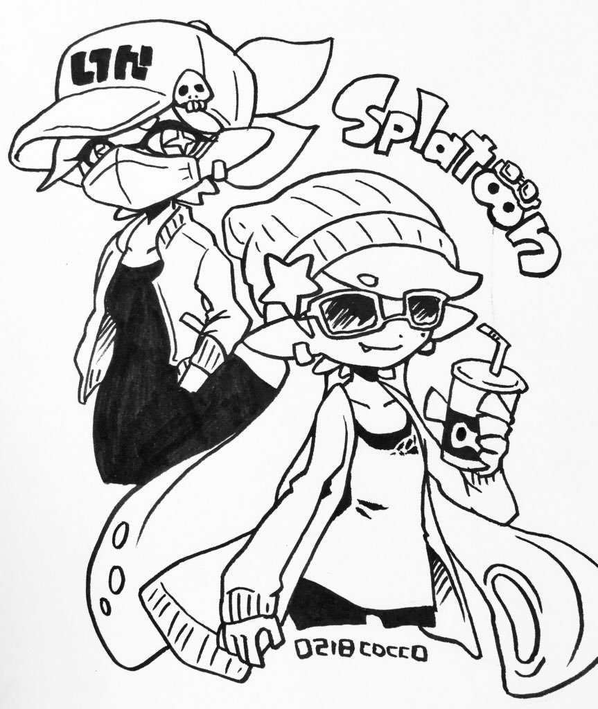 Agents 1 2 Splatoon Splatoon Comics Nintendo Splatoon