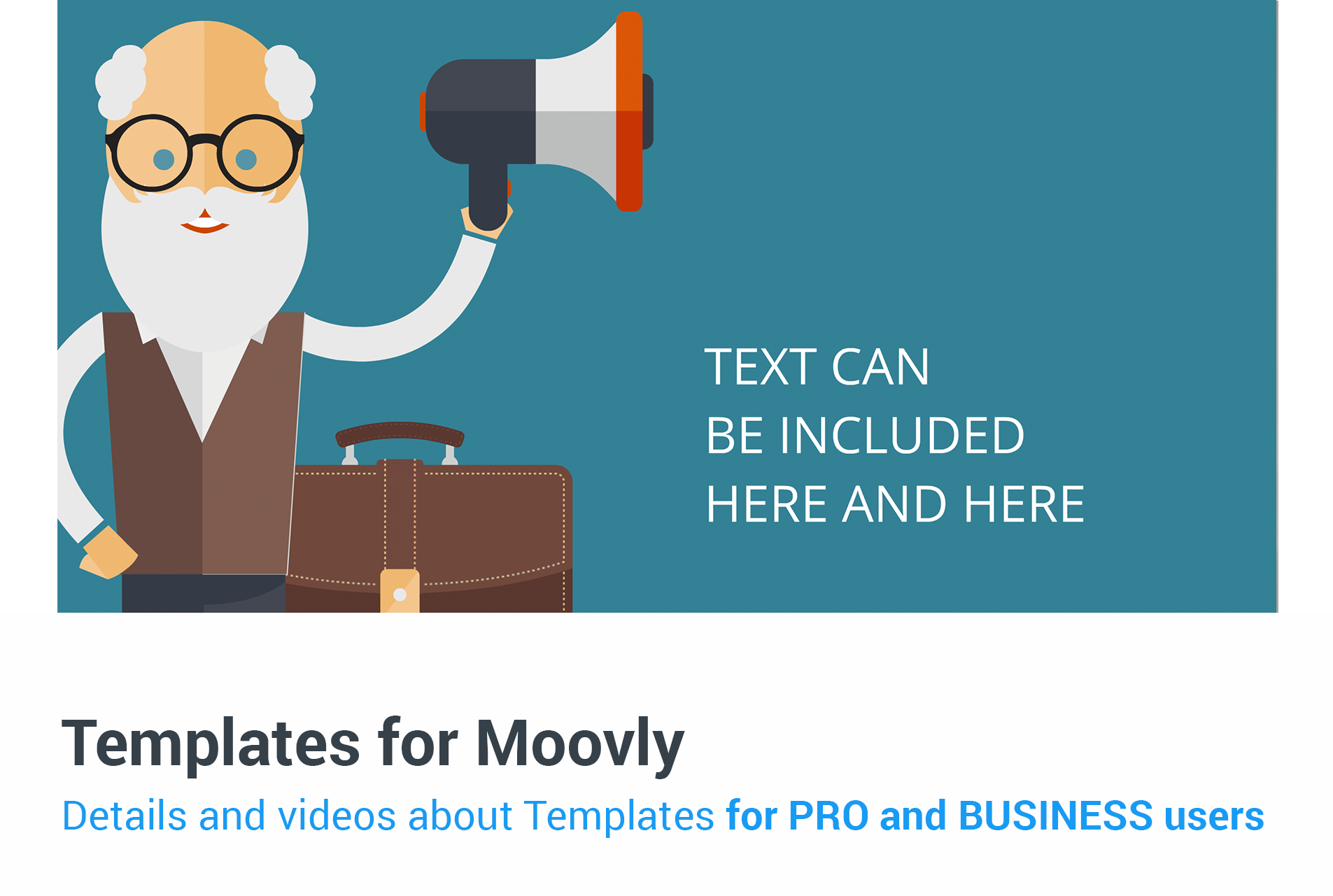 New Moovly Templates for Pro and Business users, Boost and Clean ...