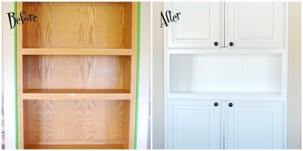 Finally Found An Example Of Adding Cabinet Doors To A Cheap Shelf