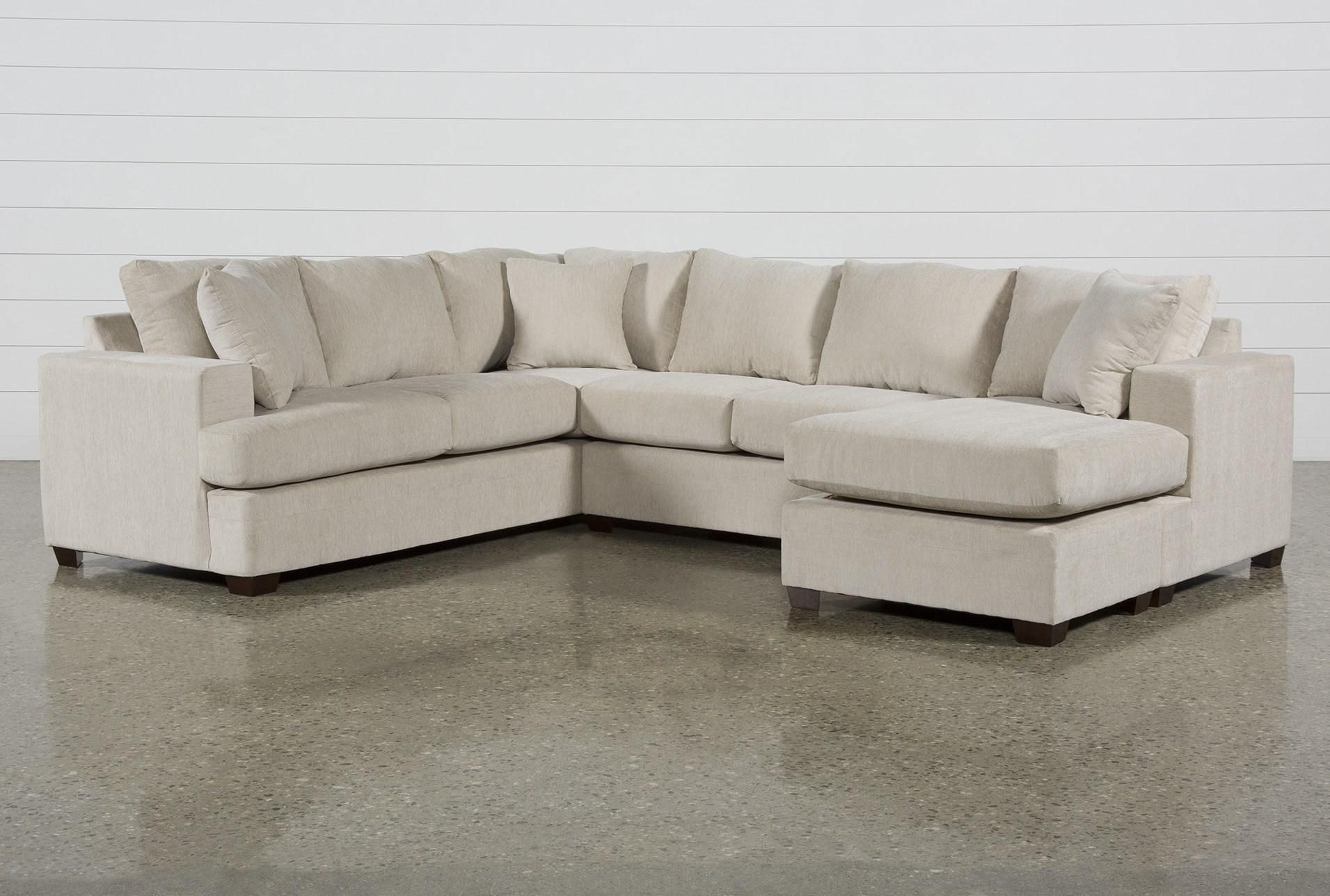 Kerri Sand 2 Piece Sectional With Right Arm Facing Sofa Chaise Chaise Sofa Living Spaces Furniture Sectional Sofa