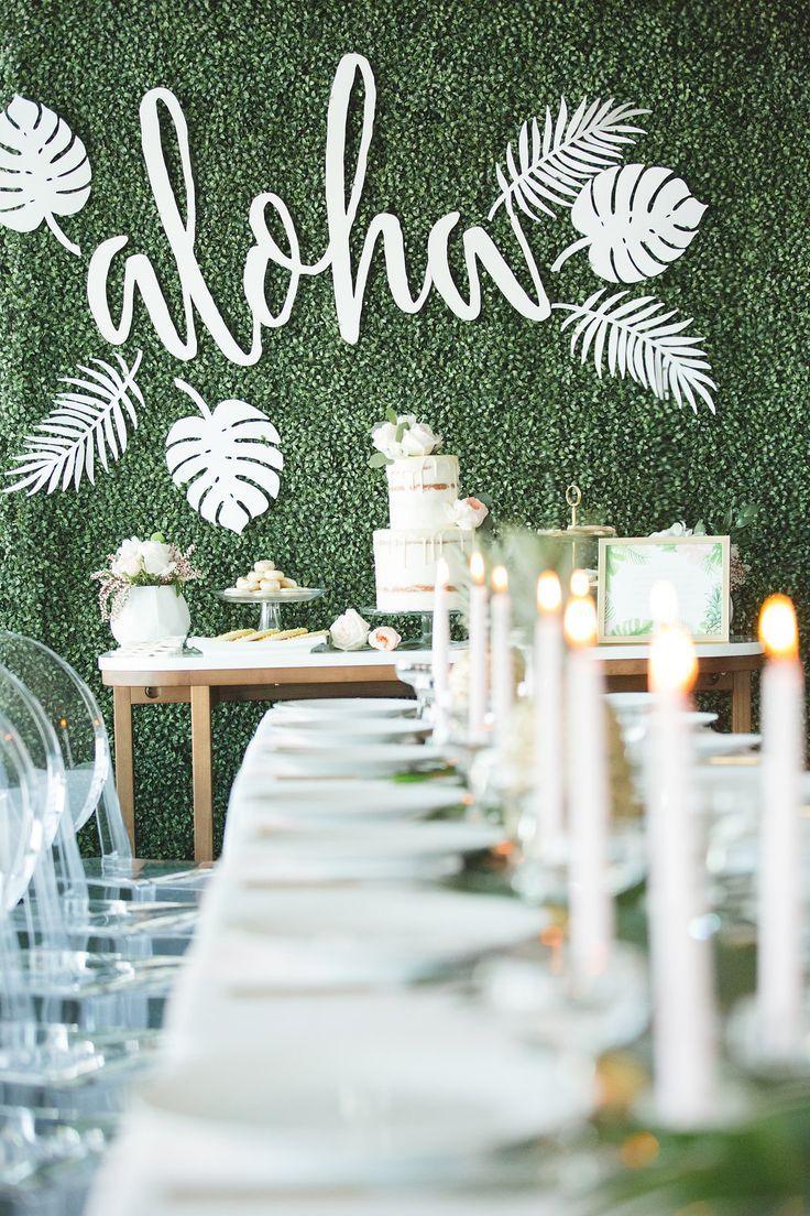 Hawaiian Inspired Bridal Shower | Bridal showers, Destination ...