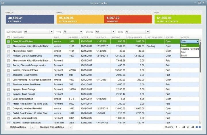 Check out QuickBooks Pro in our OfftheShelf Accounting
