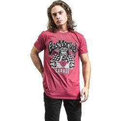 Gas Monkey Garage Burning Wheels T-Shirt
