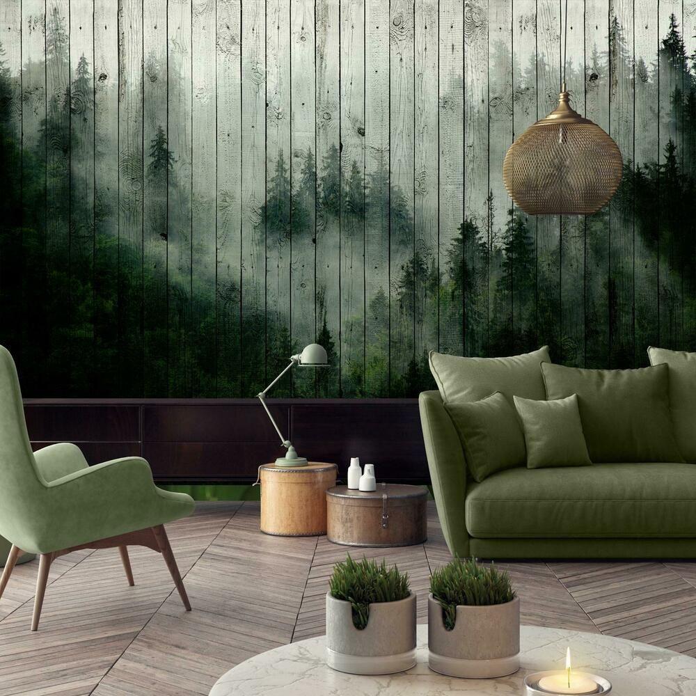 Details Zu Fototapete Tapete Poster 246348fw Wald Nebel Natur Wald Blumen In 2020 Nature Wallpaper Home And Living Wallpaper