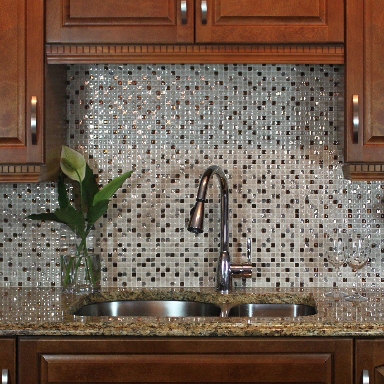 Peel And Stick Kitchen Backsplash Smart Tiles New Home Ideas