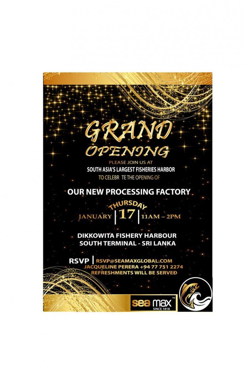 invitation card design for grand