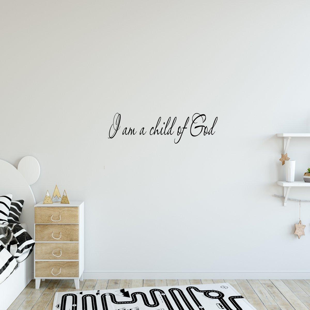 Vwaq I Am A Child Of God Vinyl Wall Decal Vinyl Wall Decals